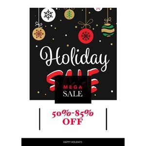 Holiday Sale In Full Effect! 🎉✨💗☺️🌹🥰🎊🎊